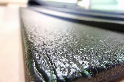 ある程度の防水性・耐水性があるメルトーム加工の吸音シート・防音シート