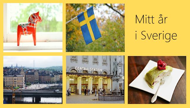 Mitt år i Sverige