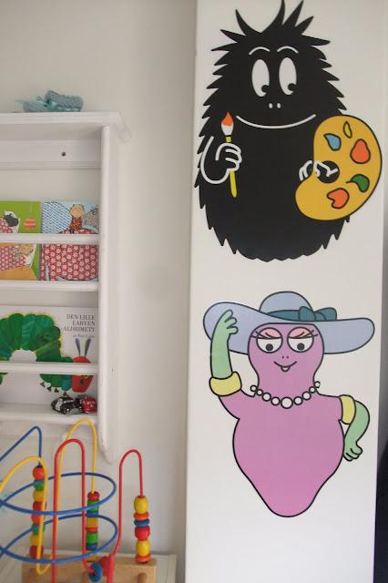 Ã¥pent hus: veggdekor til barnerommet