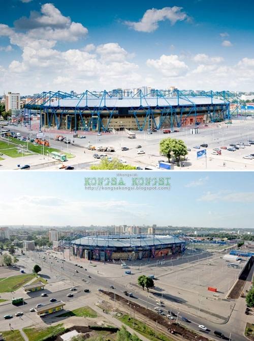 OSK Metalist Stadium, Kharhiv, Ukraine