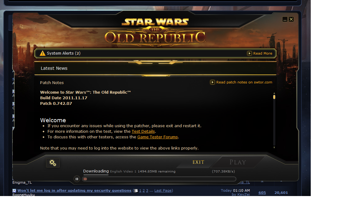 Swtor Launcher