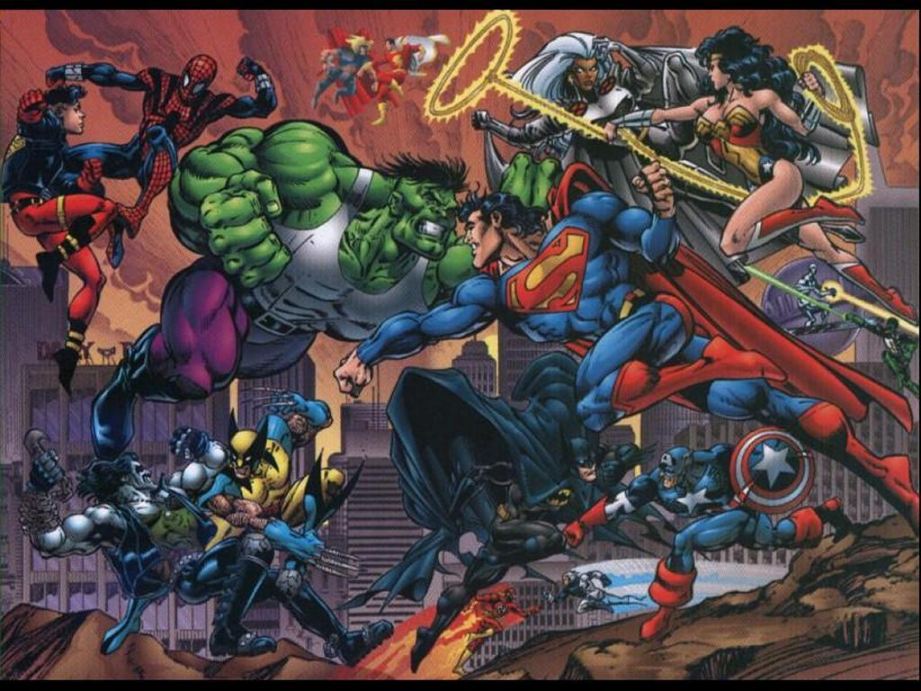 Comic marvel vs dc