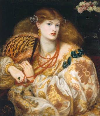 Dante Gabriel Rossetti - Monna Vanna 1866