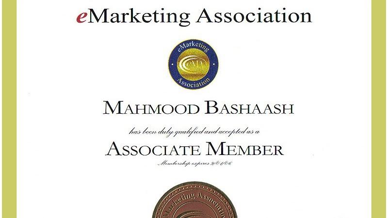 Professional Certification Business Online Marketing
