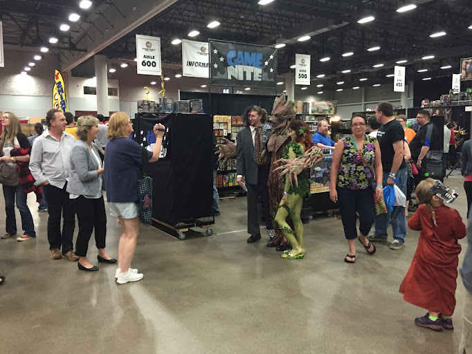 wizard world comic con des moines groot guardians of the galaxy