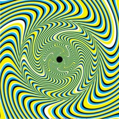 Mind Blowing Optical Illusions Spiral Pattern Creates Optical - Mind blowing optical illusion