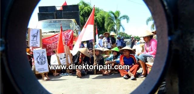 Bupati Tutup Telinga Soal Pabrik Semen, Warga Pati Kembali Demo