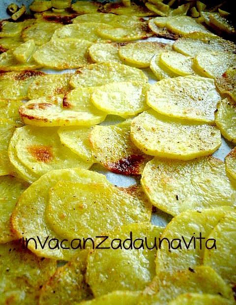 patate sottili al forno