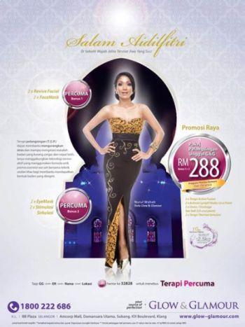 Iklan Seksi Nurul Wahab Promosi Dedah Badan Sempena Hari Raya