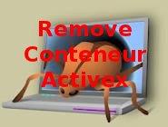 entfernen Conteneur Activex