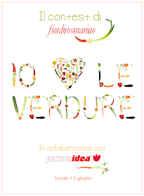 """PARTECIPIAMO AL CONTEST """"Io ♥ le verdure"""""""