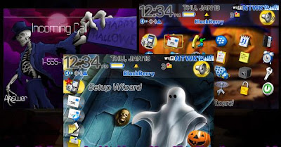 1 11102F124370 L Blackberry 9800 christmas torch themes