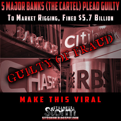 5 Major Banks (The Cartel) Plead Guilty To Market Rigging, Fined $5.7 Billion - Make this Red Pill Viral  5%2BMajor%2BBanks%2B%2528The%2BCartel%2529%2BPlead%2BGuilty%2BTo%2BMarket%2BRigging%252C%2BFined%2B%25245.7%2BBillion