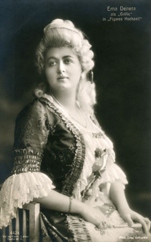 GREAT GERMAN SOPRANO ERNA DENERA (1881-1938) CD