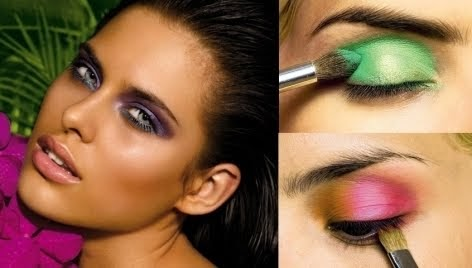 hairstyles  makeup  beautiful woman eye makeup ideas