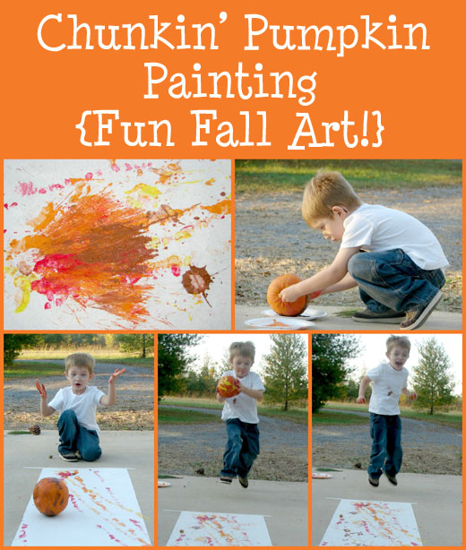 create fall art with big movements