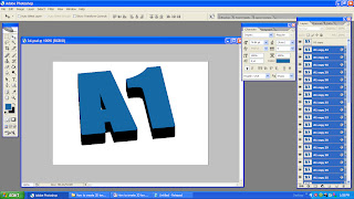 create simple 3D text in Photoshop-06