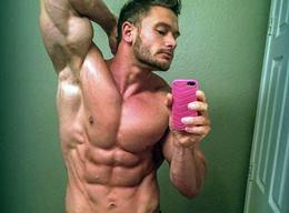 Gorgeous Amateur Hunks Selfie