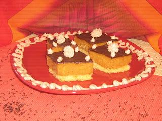 Orange jaffa cake