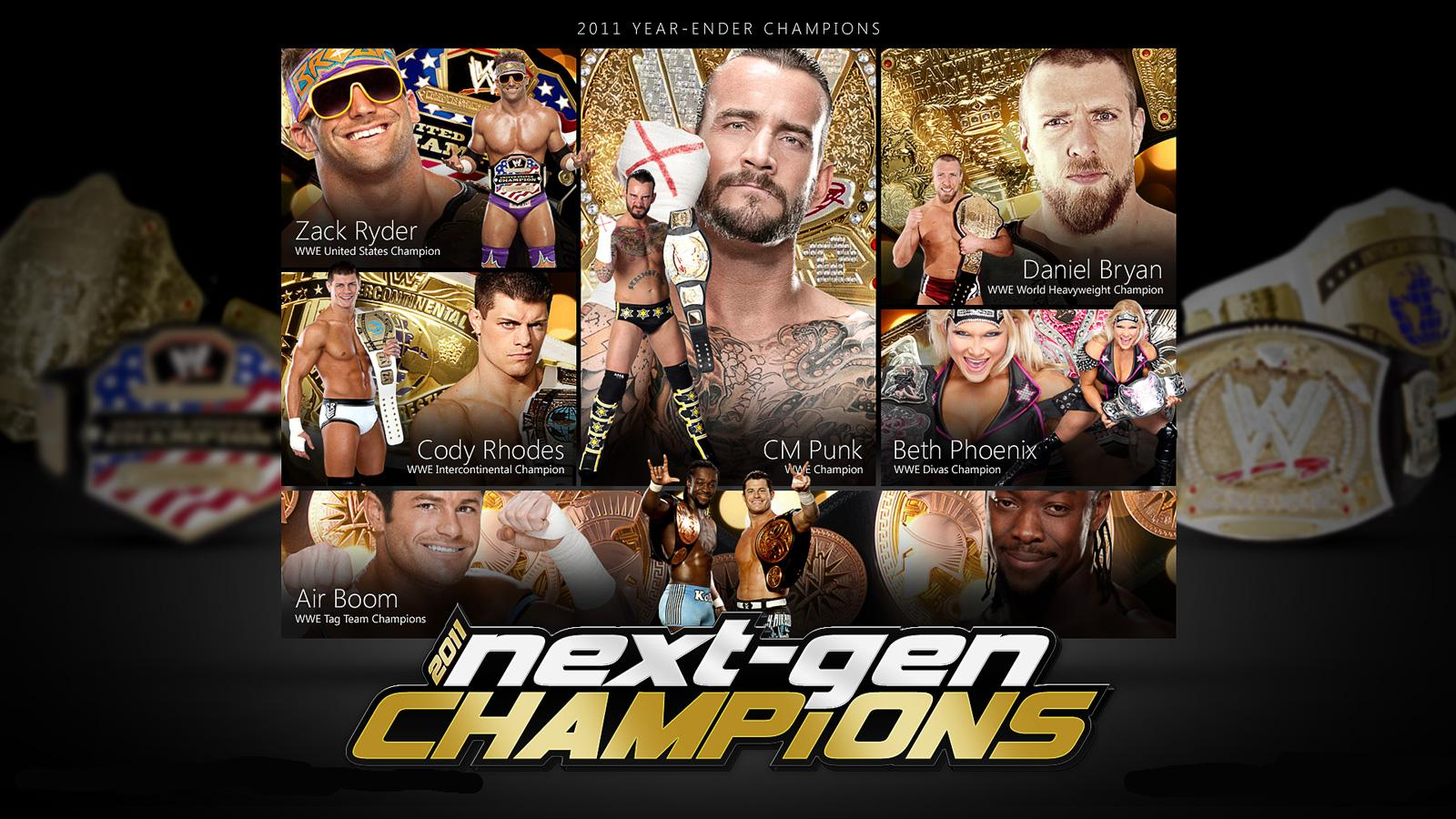 new kdls year ender 2011 wwe next generation champions wallpaper