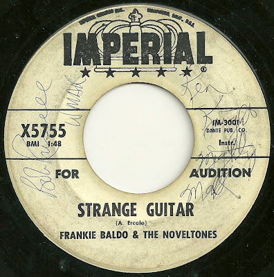 Frankie Baldo & The Noveltones - Strange Guitar