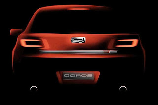 Qoros 3 New Model (2014 Rendering) Rear
