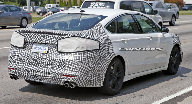 Looks Like Ford Is Readying A Hot Fusion ST / Mondeo ST ...