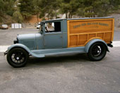 1928 Ford Woody Panel