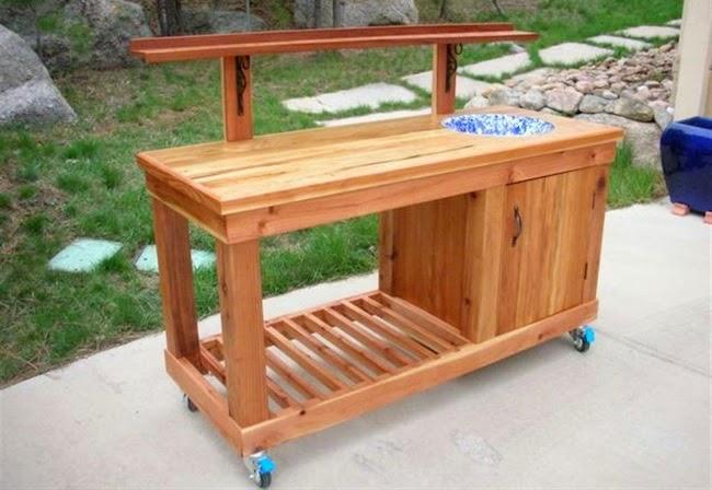 diy bench bar combo diy wood patio furniture