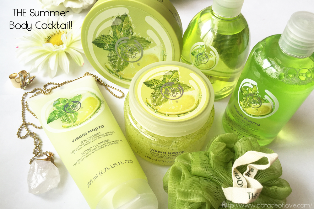 The Body Shop's Virgin Mojito Range