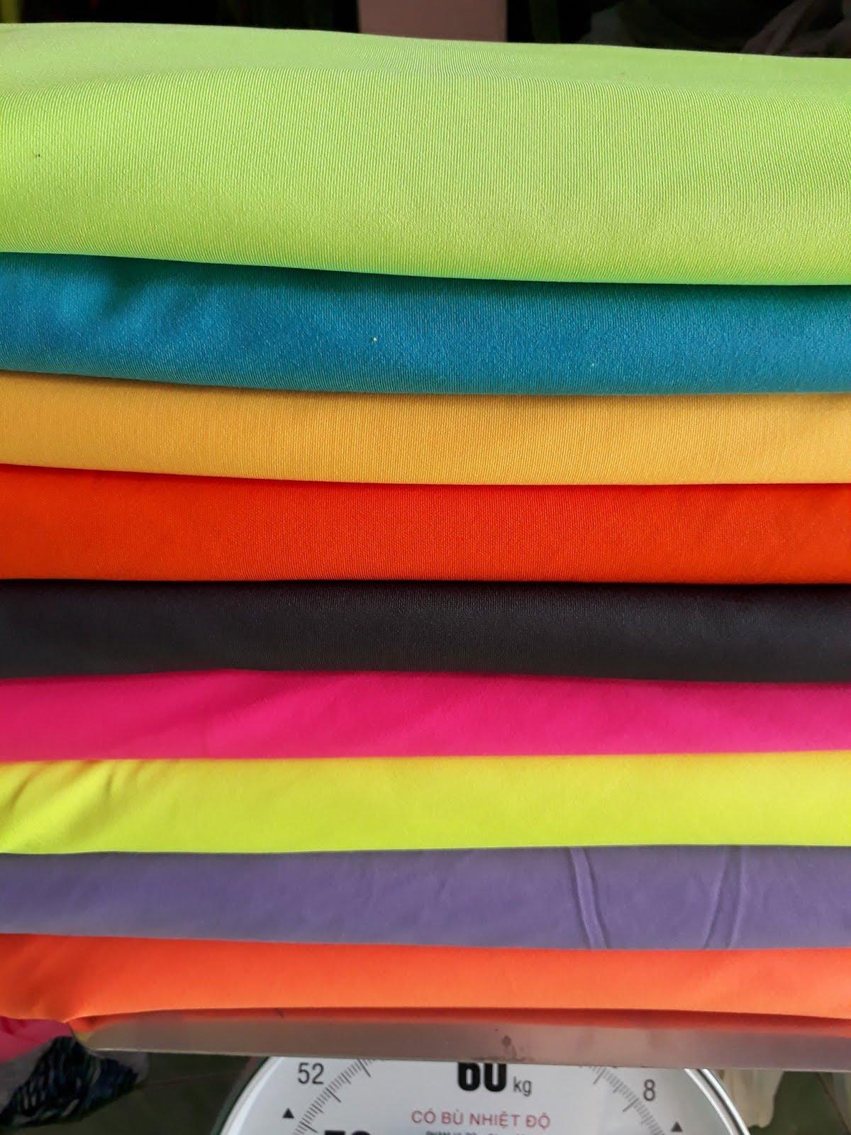 Chuyên Thu mua vải thun poly 4 chiều tồn kho giá cao