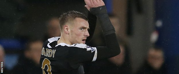 Like most of his team-mates, Vardy was everywhere. Everton did well to keep him away from goal early on, but he still ended up with two assists