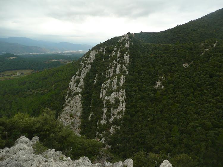 Mare de Déu del Mont, principis de desembre del 2010