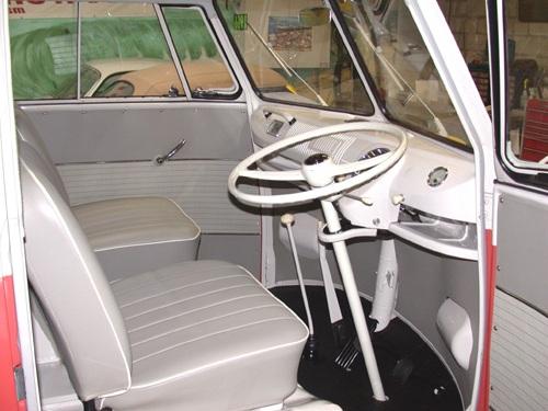 Clasicos auto volkswagen transporter for Vw kombi interior designs