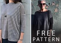 Free Pattern: Mandy Boat Tee