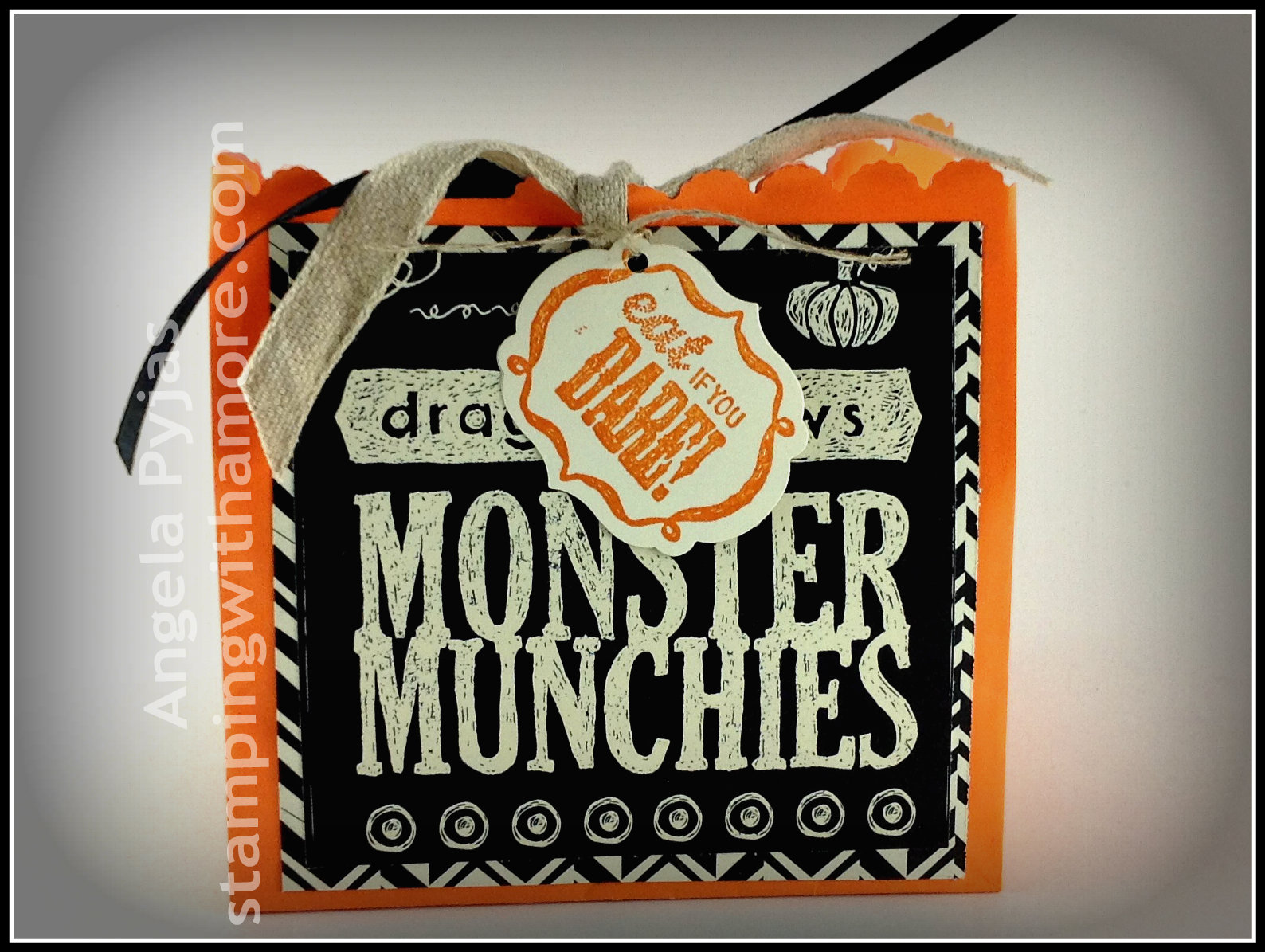 easy halloween treat bag
