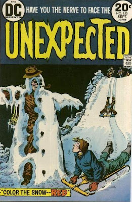 DC Comics, Unexpected #150, snowman