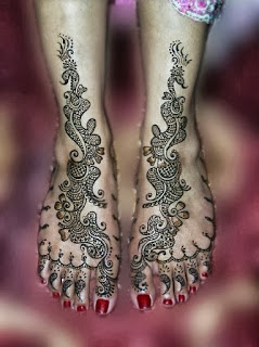 Indian Full Hand Mehndi Designs
