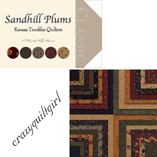 Moda SANDHILL PLUMS Quilt Fabric by Kansas Troubles Quilters