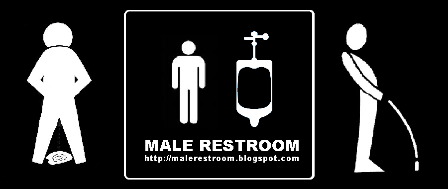 '' Male Restroom '' Pissing Men Videos and Pictures