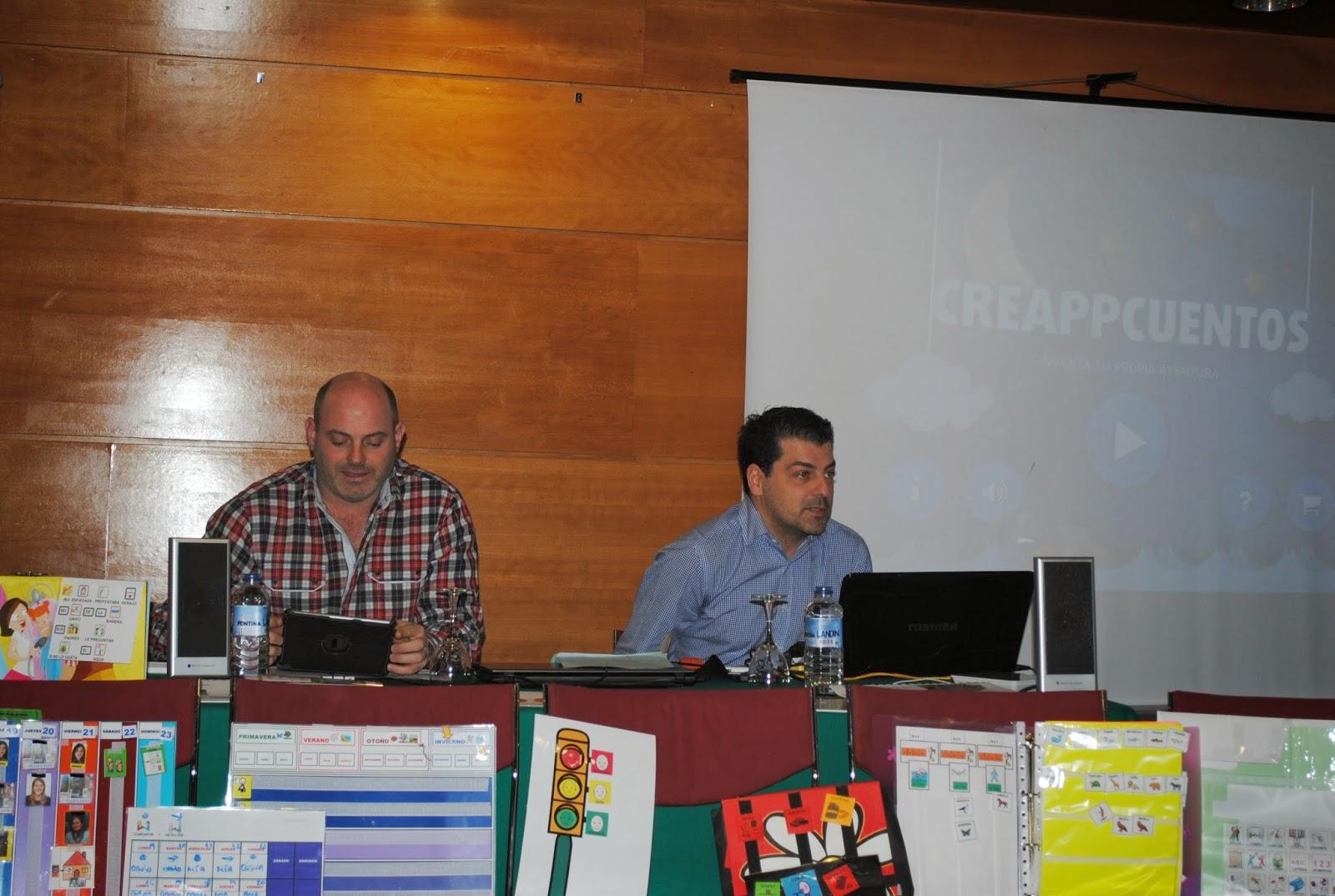 imagen de los dos ponentes