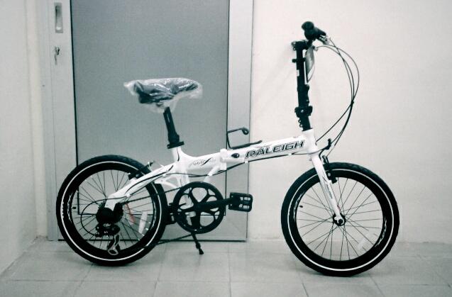 Choo Ho Leong Chl Bicycle Raleigh Ugo Folding Bike