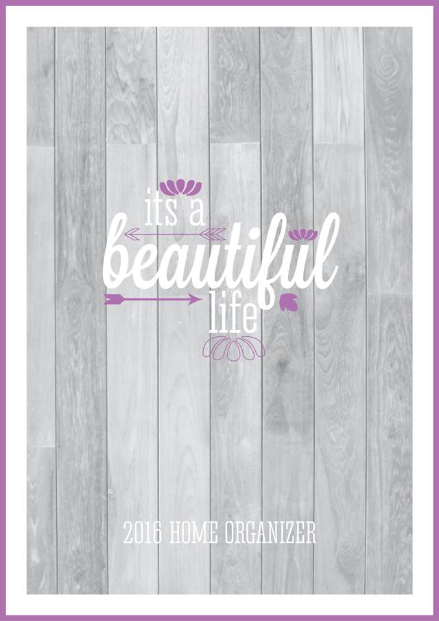 Free Printable 2016 Home Organizer Calendars & Covers by Eliza Ellis ...