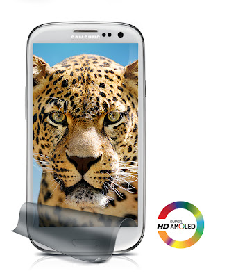 "Samsung Galaxy S3 - 4.8"" HD Super Amoled Display"