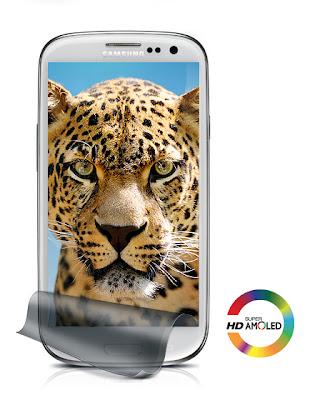 """Samsung Galaxy S3 - 4.8"""" HD Super Amoled Display"""