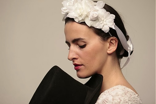Čelenka vo vlasoch Katharine-fashion is beautiful