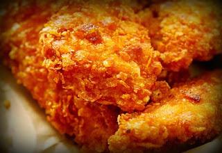 Trocitos de pollo al horno