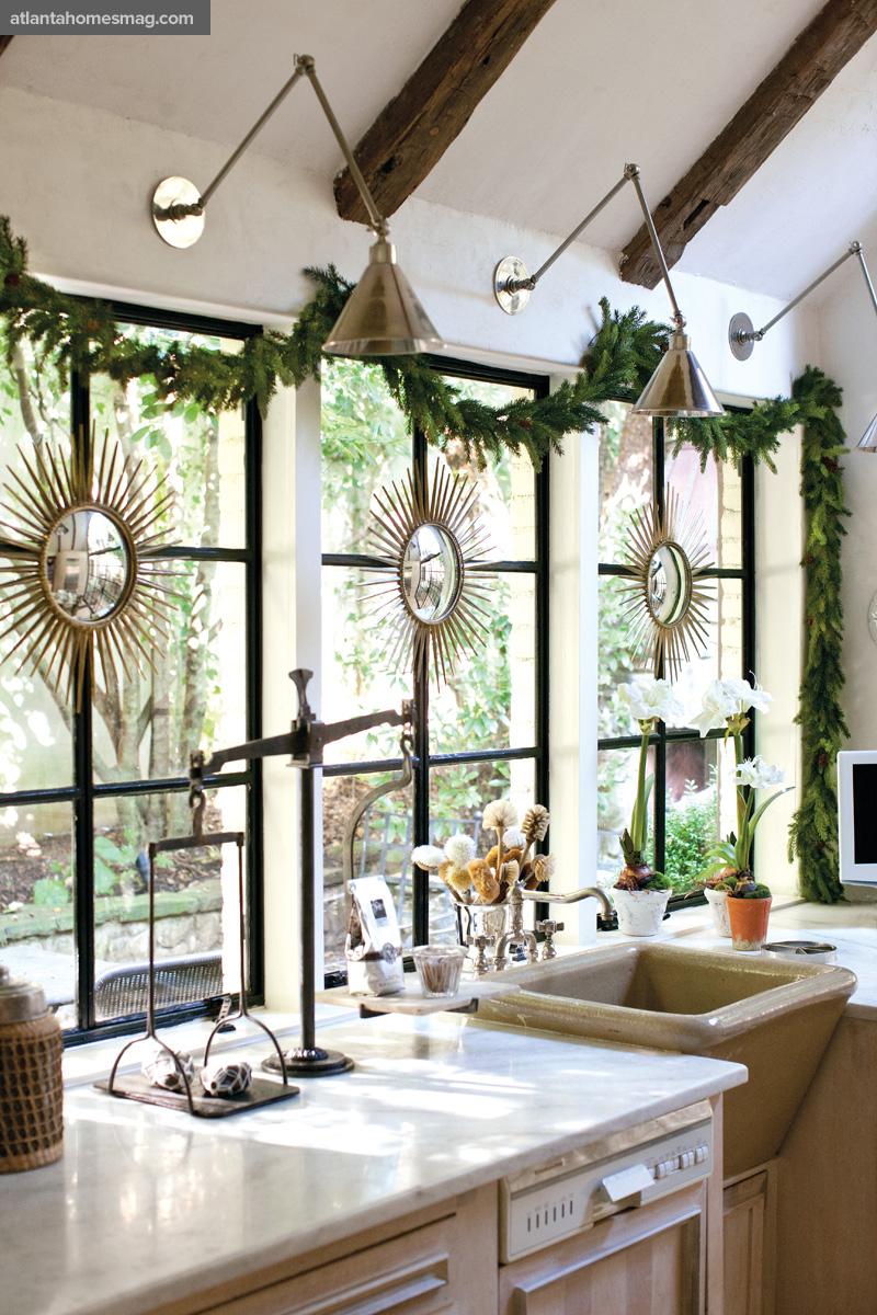 la casa de jill sharp brinson decorada para la navidad desde my ventana blog de decoraci n. Black Bedroom Furniture Sets. Home Design Ideas
