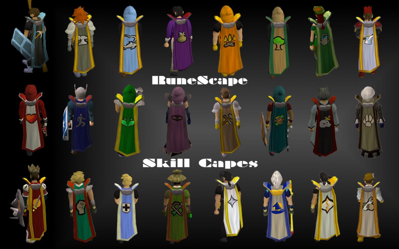 Dragonsslayers capas 99 do runescape qual vc vai querer em for Runescape exp table 1 99