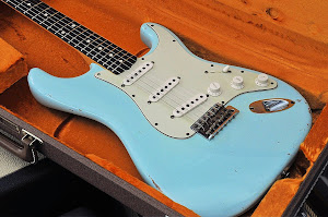 Fender Strat Customshop Daphne Blue